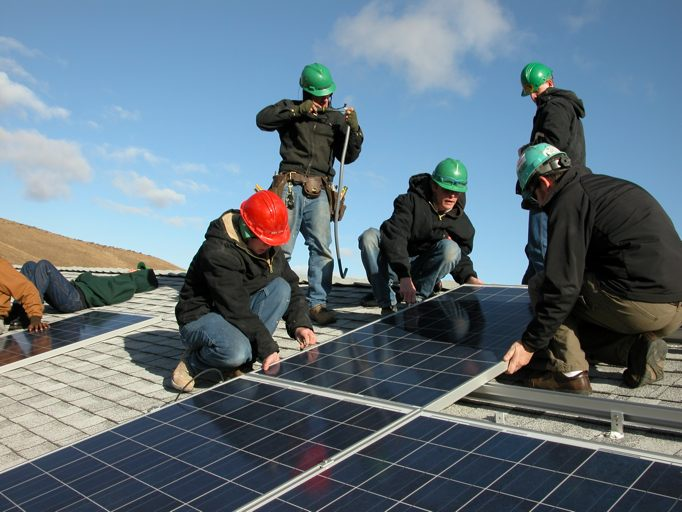 Hire Electric Helps Install 1.2kw Solar Electric System @ Fort Simcoe Job Corp