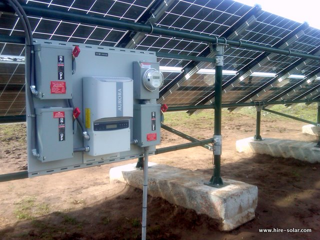 Washington Manufactured Solar Array and Inverter System