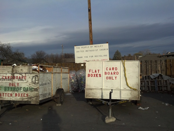 Wesley United Recycles Yakima