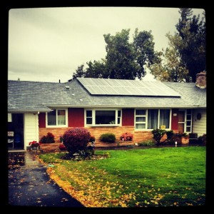 Solar Home in Hood River