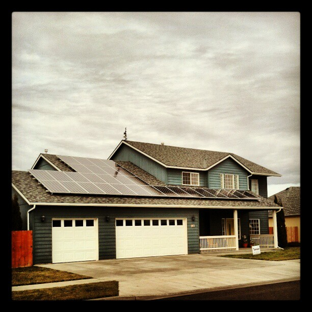 Solar Curb Appeal in Walla Walla, WA