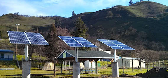 Lyle Secondary School Goes Solar