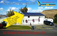 Solar Open House in Arlington, Oregon